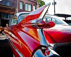 Classic Car Photo, Red Hot Rod, Vintage Cadillac, Automobile Art, 1950s, Retro, Fast Car, 8 x 10 Print, Man Cave, Gift for Him, Fathers Day photo by Squint Photography https://www.etsy.com/listing/109999418/classic-car-photo-red-hot-rod-vintage?ref=shop_home_active_1