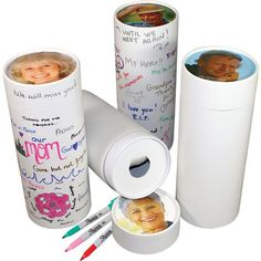 Our Love Notes Personalized Scattering Urn Tube is designed for your family to write your final goodbye notes on the urn, with custom photo & inscription included.