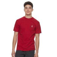 Men's Vans Spiro Tee, Size: Medium, Dark Red