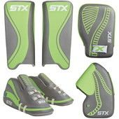 STX Anchor Adult Field Hockey Goalie Package - Leg Guards, Kickers, & Gloves