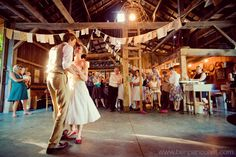 The more pictures I see from barn weddings the more I want to have one!