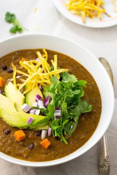 very delicious, great flavour, and a comfort food appeal. yum! Smokey Sweet Potato and Black Bean Soup