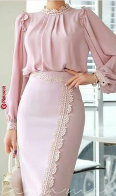 How To Look Classic Like Serwaa Amihere For Plus Size & Curvy Ladies 2020 – Pencil Skirts That Make You Look Cool - Kleidung Muslim Fashion, Modest Fashion, Hijab Fashion, Fashion Dresses, Romantic Fashion, Maxi Dresses, Fashion Clothes, Fashion Fashion, Fashion Tips