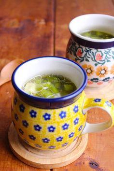 お漬物って使える!娘がどハマり中の『野沢菜スープ』|LIMIA (リミア) Food And Drink, Menu, Favorite Recipes, Drinks, Cooking, Tableware, Kitchen, Soups, Menu Board Design