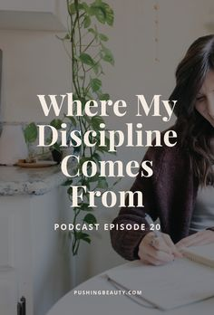 Where My Discipline Comes From — Pushing Beauty - Motivation Discipline Quotes, Self Discipline, Motivational Quotes For Women, Inspirational Quotes, Self Efficacy, The Desire Map, Creativity Quotes, Successful Women, You Are Perfect