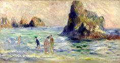 Импрессиониз Пьер Ренуар Moulin Huet Bay #impressionism #импрессионизм
