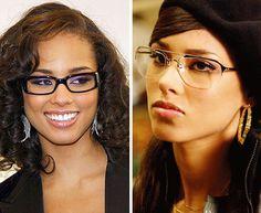 Alicia Keys - Celebrity Glasses www.focalglasses.com www.facebook.com/pages/Focalglasses/551227474936539 Best Vision in The World!