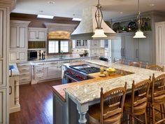 Kitchen Layout Templates: 6 Different Designs | Kitchen Designs - Choose Kitchen Layouts & Remodeling Materials | HGTV