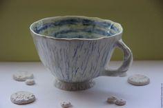 Чашка Хрупкое Равновесие - керамика ручной работы