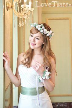 花冠 ウェディング ブライダル 結婚式