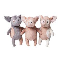 Ikea Kelgris 3 Little Pigs Soft Plush Toy Bundle IKEA http://www.amazon.com/dp/B018FPAKS8/ref=cm_sw_r_pi_dp_D-cVwb15875BV