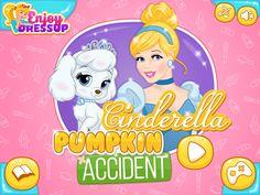 Cinderella Pumpkin Accident