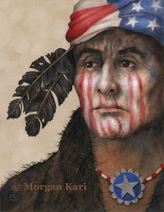 """BORN IN THE U.S.A. by Morgan Alexandra Kari / 8"""" x 10"""" original Colored Pencil on Suede Mat Board / 8"""" x 10""""Giclee prints available for $40 plus shipping and handling"""