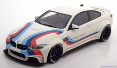 Strassen-Fahrzeuge GT Spirit 1:18 BMW M4 LB Works Design   weiß/rot/blau/violett Limited Edition 300 pcs. www.modelissimo.de