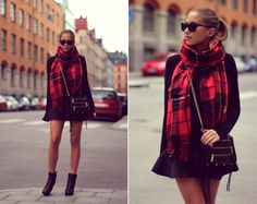 2013 Scarf from Ginatrcoit/Bag Rebecca Minkoff