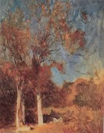 Emil Carlsen At The Edge of The Woods, c1902  #Artist #EmilCarlsen #Venice #paintings #painter #PaintingsofVenice #EmileCarlsen #SorenEmileCarlsen #SorenEmilCarlsen #AmericanImpressionism #Impressionism #StillLife #StillLifePainter #StillLives #LandscapePainting #MarinePainting #Trees #PaintingsofTrees #Forest  Learn about artist Emil Carlsen at http://emilcarlsen.org