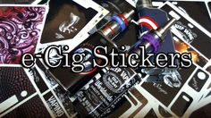 e-Cig Stickers (Gadget.sales) - BasilisL (Greek ecig Review)