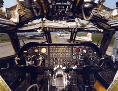 The unique smell inside a military aircraft (B-52 cockpit)