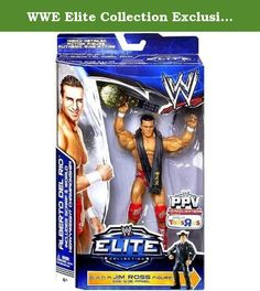 WWE Elite Collection Exclusive Best of Pay-Per-View 2014 Alberto Del Rio Action Figure (Build Jim Ross) toy [parallel import goods]. It's shipped off from Japan.