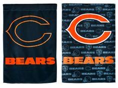 Chicago Bears Poly-Suede Garden Flag
