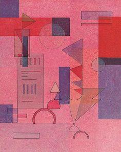 """Wassily Kandinsky - """"Layered"""", 1932"""