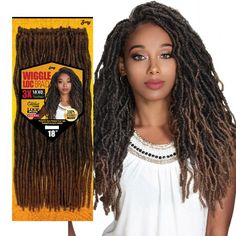 Good Cost-Free Zury Sis Value Pack Crochet Braid WIGGLE LOC BRAID 18 Inch Concepts Braids are probably one of many earliest hairstyles which have been changed in various ways. Box Braids Hairstyles, Fancy Hairstyles, Trending Hairstyles, African Hairstyles, Black Women Hairstyles, Teenage Hairstyles, Hairstyles Videos, Hairstyles 2016, Updos Hairstyle