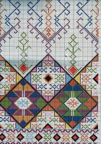 Traditional embroidery patterns, traditional cross stitch, vintage embroidery, ΣΤΑΥΡΟΒΠDmc Cross Stitch, Cross Stitching, Cross Stitch Embroidery, Cross Stitch Patterns, Russian Embroidery, Vintage Embroidery, Embroidery Patterns, Vintage Cross Stitches, Bargello