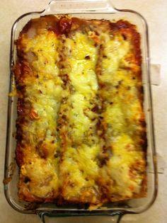 Gluten and lactose free lasagna!
