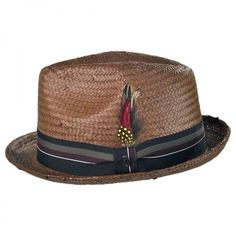 Jaxon Hats Tribeca Toyo Straw Trilby Fedora Hat All Fedoras Straw Fedora, Fedora Hats, Men's Hats, Jaxon Hats, Mens Dress Hats, Dope Hats, Hats For Men, Hat Men, Cool Hats For Guys