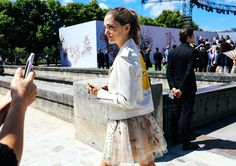 Sofîa Sanchez de Betak in Dior // @olivianance72 ++