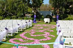 #wedding paisley (fav) isle decorations