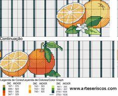gallery.ru cross stitch patterns citrus - Google zoeken