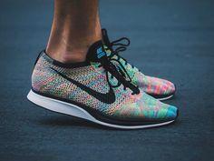 check out 328fd fe9e6 Nike Flyknit Racer Multicolor 2.0 - 2015 (by alizulfikar01) Nike Flyknit  Racer, Shoe