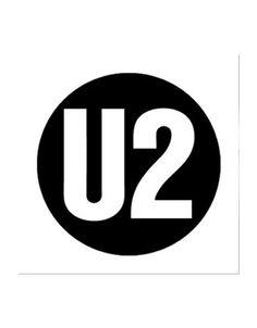 U2 Logo - Button - 1 Inch