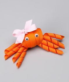 Take a look at this Nantucket Girl Orange Crab Clip on zulily today!