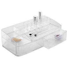 Interdesign - La grande box à compartiments Rain : vos produits de beauté enfin bien organisés, même en grand nombre !