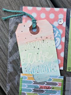 jd designs: National Stamping Month (Hello Life) Blog Hop
