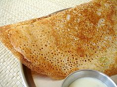 A favorite South Indian breakfast fare - Rava Dosa (a photo tutorial)