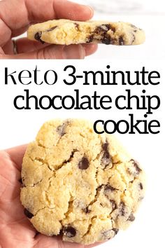My Keto Single Serve Cookie is perfect for a sweet treat. Bake or microwave a sugar cookie with or without add-ins in minutes! Chocolate chip cookie, peanut butter chip cookie, pecans, walnuts, chocolate chunks - add anything you like! Peanut Butter Chip Cookies, Nutella Cookies, Chocolate Chip Cookies, Sugar Free Chocolate, Keto Cookies, Single Serve Cookie, Easy Cookie Recipes, Keto Recipes, Keto Desserts