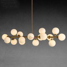 Modern-Modo-16-Round-Glass-DNA-LED-Chandelier-Pendant-Lamp-Ceiling-lamp-Fixture