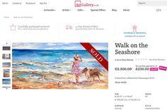 Seaside Art, Sea Art, Seascape Paintings, Figurative Art, United Kingdom, Diana, Artworks, Art Gallery, June