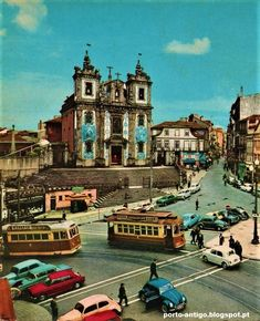 Visit Porto, Porto City, Douro, Transportation Services, The Old Days, City Break, Public Transport, Old Pictures, Travel Inspiration