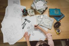 This Artist Has Created An Unexpected Bestseller: A Coloring Book For Adults!