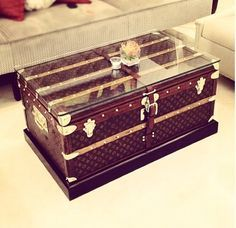 Since The Invention Of Ever-Lighter Suitcases And Rolly-Bags, The Travel Trunk Has Become A Romantic Symbol Of YesterYear, Redolent Of Exotic Destinations And European Glamor. Now, Of Course, Trunks Make Better Coffee Tables Than Travel Chests, But They Haven't Lost Their Allure.
