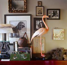 A Collector's Home in London - AD Magazine - via Keltainen talo rannalla