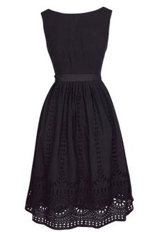 Love this dress. It would be cute with a cardigan.