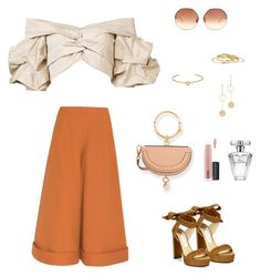 """Untitled #60"" by cristinestyle on Polyvore featuring Delpozo, Johanna Ortiz, Jimmy Choo, Linda Farrow, Minor Obsessions, Jennifer Fisher, Cloverpost, MAC Cosmetics and Avon"