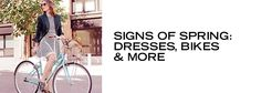 Signs of Spring: Dresses, Bikes & More - http://pusatbajugrosir.com/signs-of-spring-dresses-bikes-more/