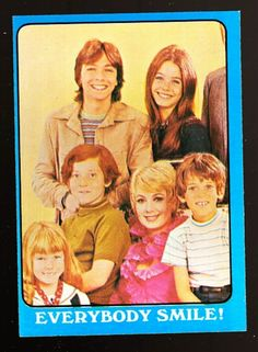 Partridge Family trading card.  Isn't that Rueben's shoulder next to Laurie's head?