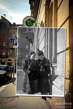 Budapest, Hongrie, rue Frankel Leo - 1940-2012